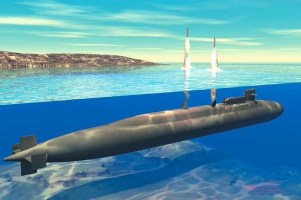 전략핵잠수함 오하이오급 잠수함