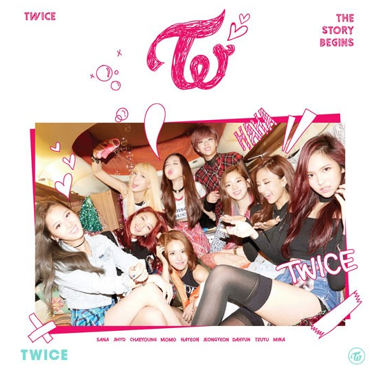 트와이스, 데뷔 2주년 포토
