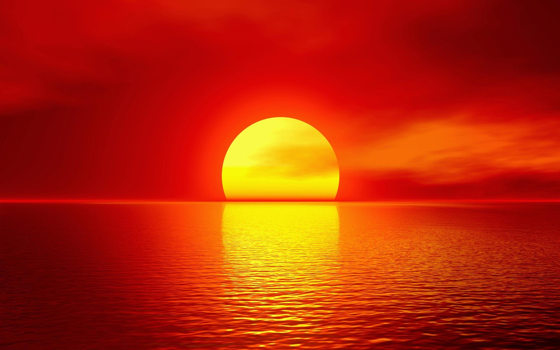 아름다운 석양 (Sunset)  3
