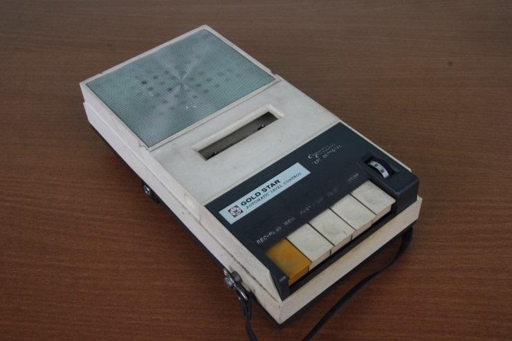 1970년대 한국의 카세트라디오들 종류