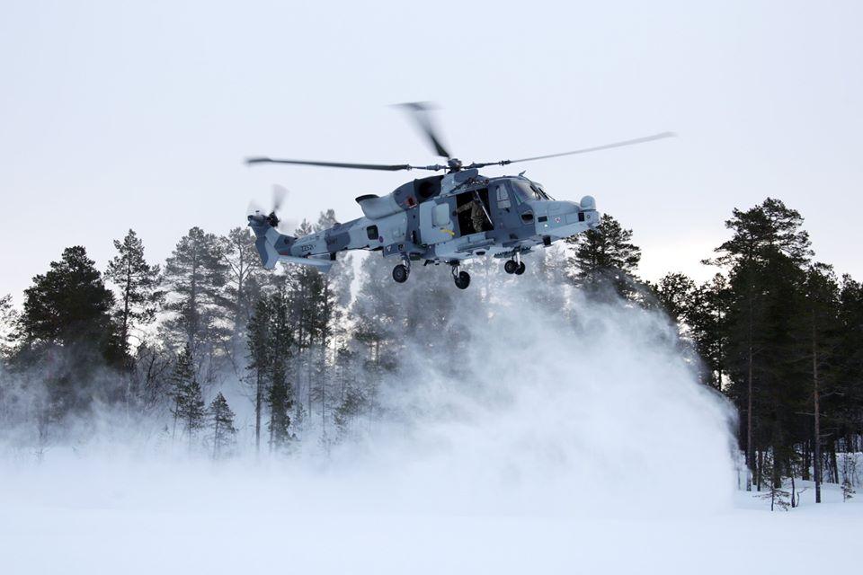 영국해병대의 북극에서의 훈련
